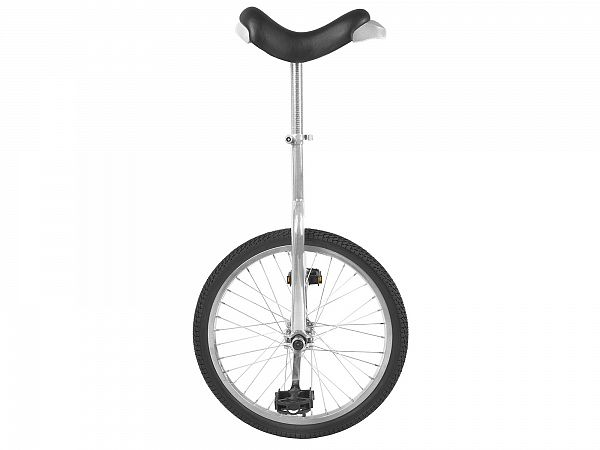 "Fun 24"" Ethjulet Cykel, Silver"