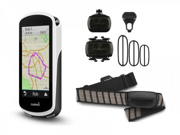 Garmin Edge 1030 Bundle GPS Cykelcomputer