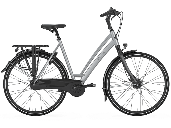 Gazelle Chamonix C7 Industry Grey - Damecykel - 2020