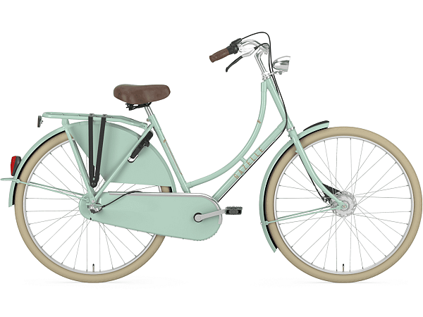 Gazelle Classic 3 Pale Green - Damecykel - 2019