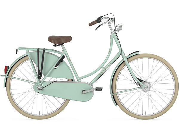 Gazelle Classic 3 Pale Green - Damecykel - 2020