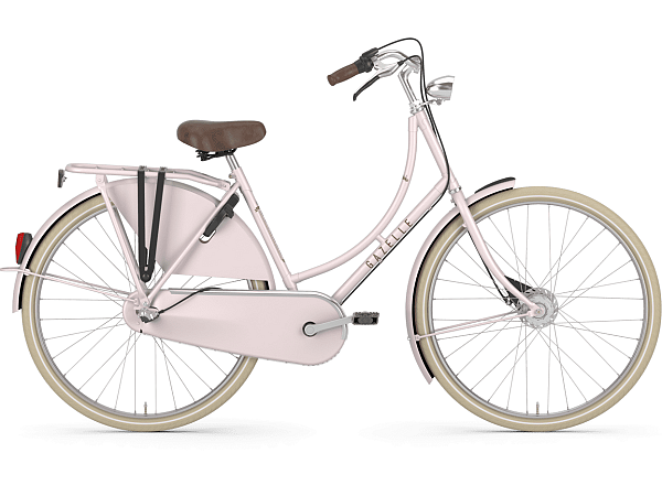 Gazelle Classic 3 Powder Rose - Damecykel - 2020
