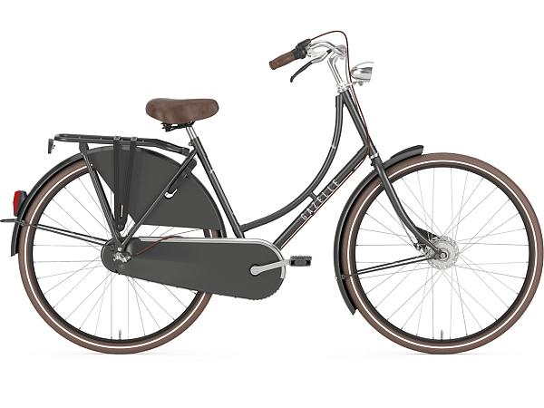 Gazelle Classic 3 Titanium Grey - Damecykel - 2020