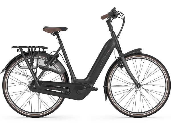 Gazelle Grenoble C8 HMB Black - Elcykel - 2020