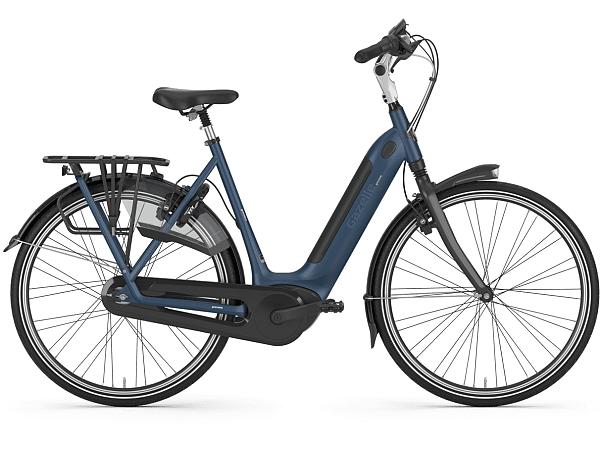 Gazelle Grenoble C8 HMB Blue - Elcykel - 2020