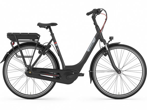 Gazelle Paris C7+ HMB Black - Elcykel - 2020