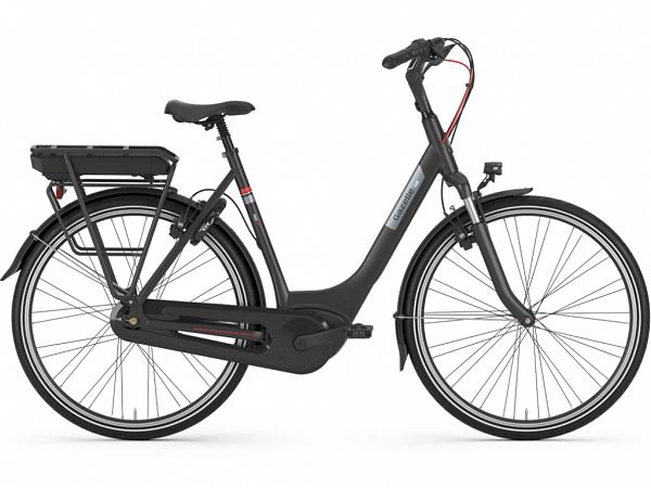 Gazelle Paris C7+ HMB Black - Elcykel - 2020