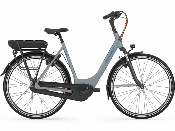 Gazelle Paris C7+ HMB Grey - Elcykel - 2020