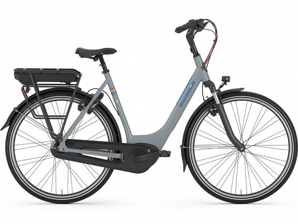 Gazelle Paris C7+ HMB Grey - Elcykel - 2020