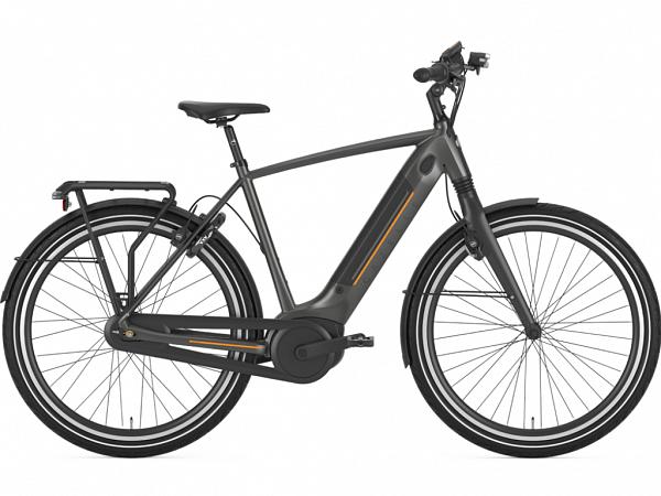 Gazelle Ultimate C8+ HBM Grey - Elcykel - 2020