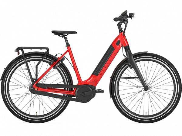 Gazelle Ultimate C8+ HBM Red - Elcykel - 2021
