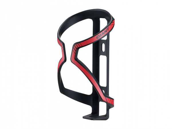 Giant Airway Flaskeholder, Black/Gloss Red