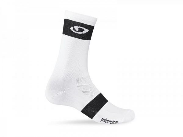 Giro Comp Racer High Rise Sokker, White