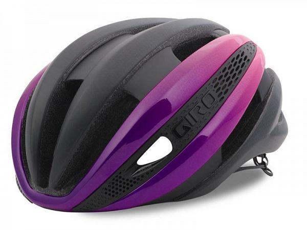 Giro Synthe MIPS Cykelhjelm, Black/Pink/Purple