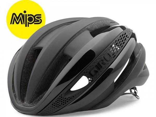Giro Synthe MIPS Cykelhjelm, Flash Black