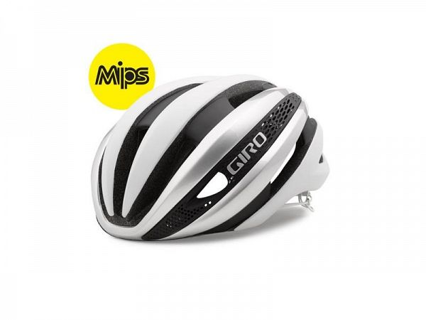 Giro Synthe Mips Cykelhjelm, White/Silver