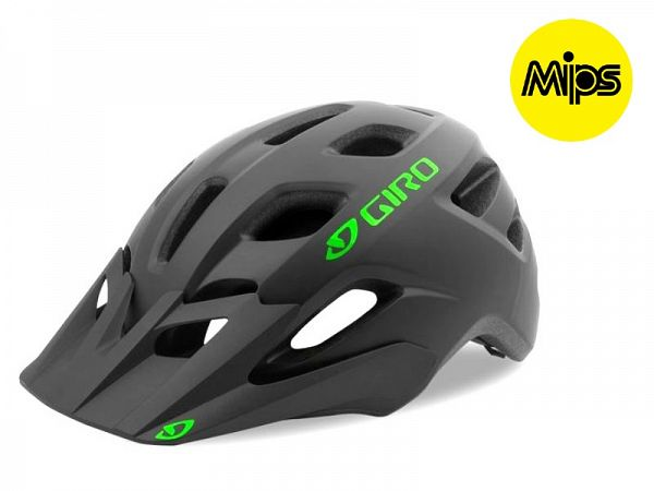 Giro Tremor Mips Junior Cykelhjelm, Mat Black/Green