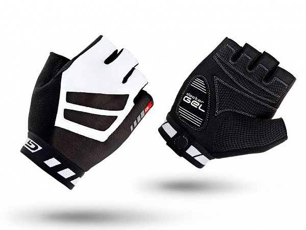 GripGrab WorldCup Cykelhandsker, Black/White