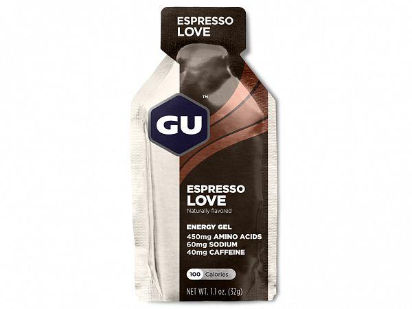 GU Caffeine Espresso Love Energy Gel, 32gr