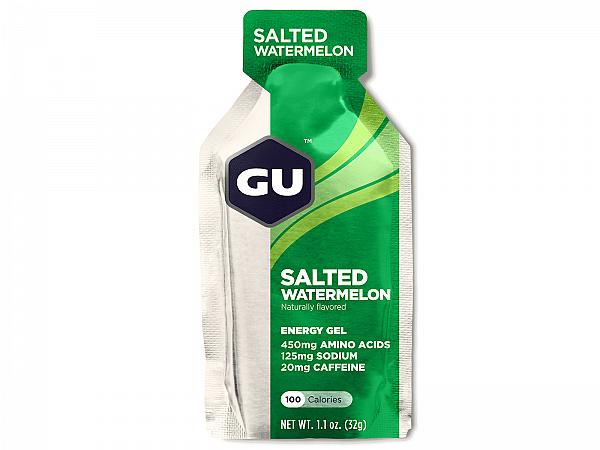 GU Caffeine Salted Watermelon Energy Gel, 32gr