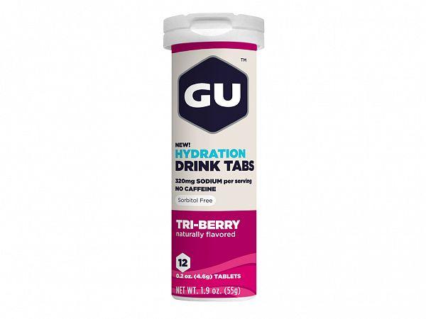GU Energy Tri-Berry Elektrolyttabs, 12 stk