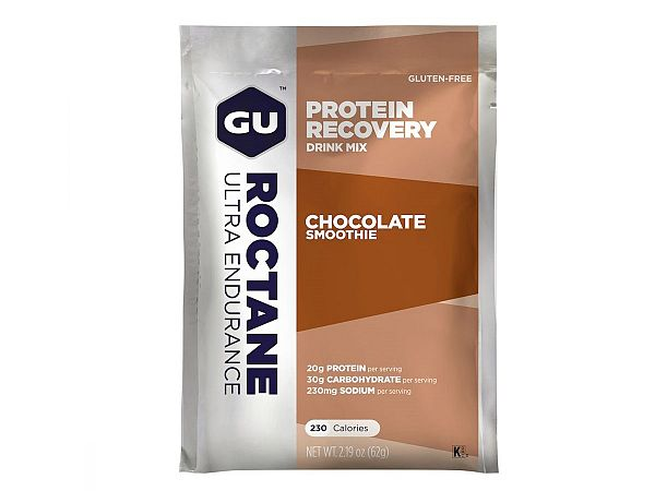 GU Recovery Chocolate Smoothie Protein Drink, 62gr