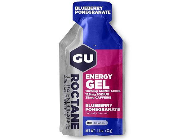 GU Roctane Blueberry Pomegranate Energy Gel, 32gr