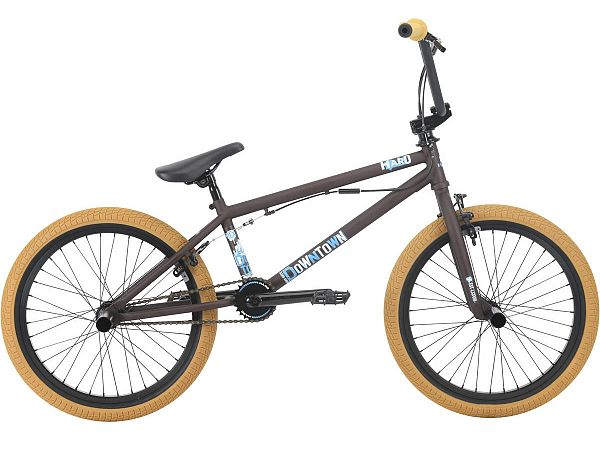 "HARO Downtown DLX 20.3"" brun - Freestyle BMX - 2018"