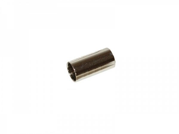 Jagwire sølv Yderkabelende, 5 mm