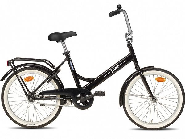 "Jopo 1G 20"" Black - Minicykel - 2020"