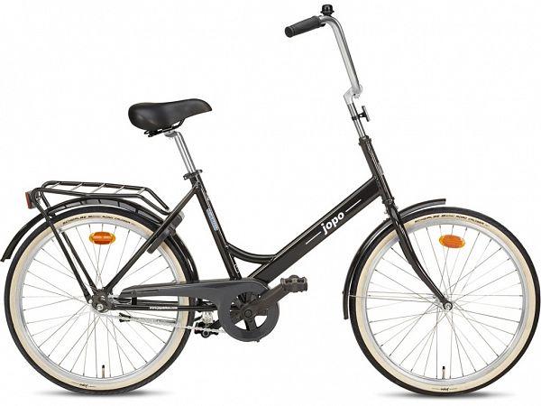 "Jopo 1G 24"" Black - Minicykel - 2020"