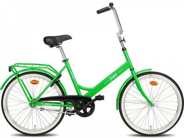 "Jopo 1G 24"" Lime Green - Minicykel - 2020"