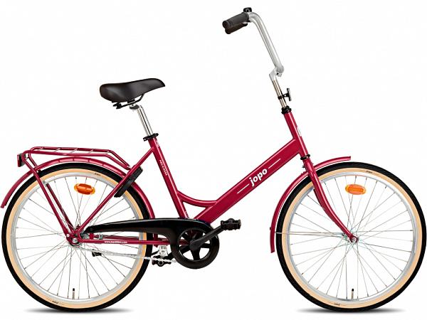 """Jopo 1G 24"""" Plum - Minicykel - 2021"""