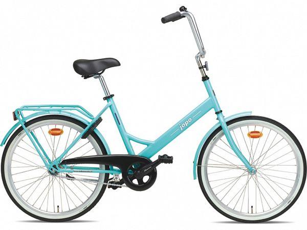 """Jopo 1G 24"""" Turquoise - Minicykel - 2020"""