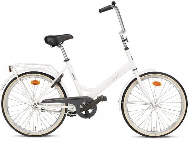 """Jopo 1G 24"""" White - Minicykel - 2020"""