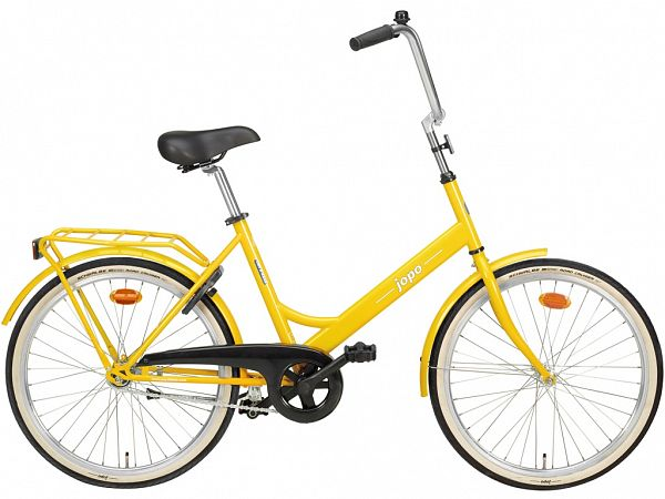 "Jopo 1G 24"" Yellow - Minicykel - 2021"