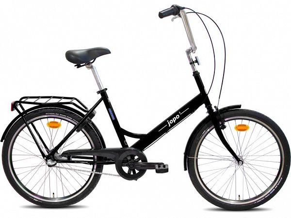 "Jopo 3G 24"" Black - Minicykel - 2020"