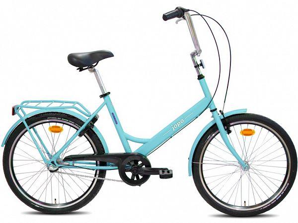 """Jopo 3G 24"""" Turquoise - Minicykel - 2020"""