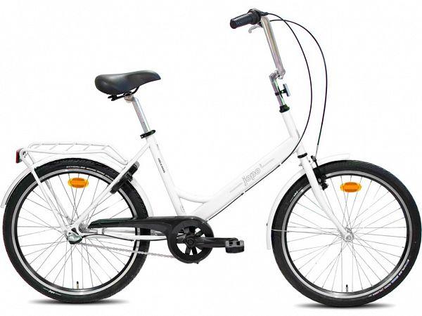 """Jopo 3G 24"""" White - Minicykel - 2020"""