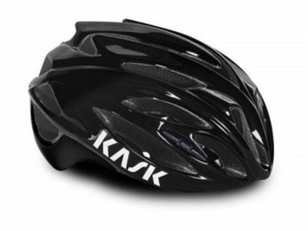 Kask Rapido Cykelhjelm, Black/Black