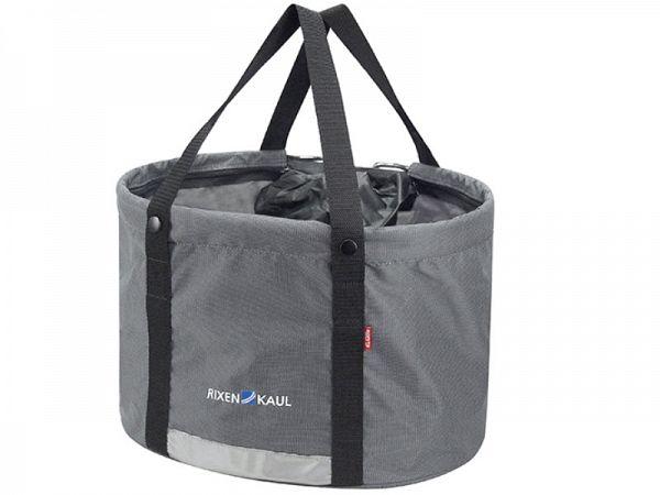 Klickfix Shopper Plus Cykelkurv, Inkl. Regnslag, 24L