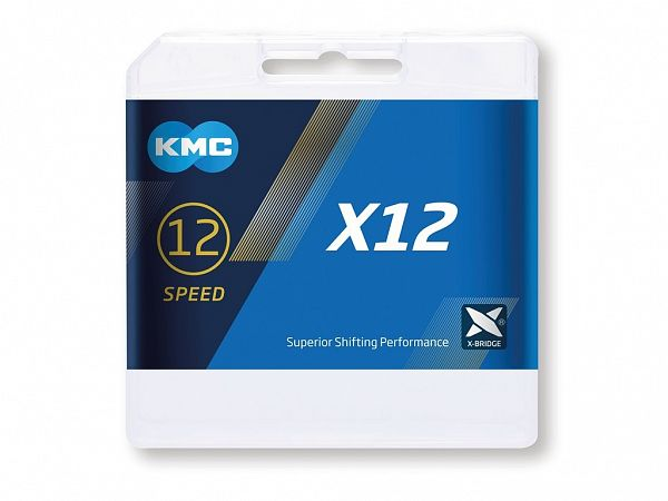 KMC X12 12-Speed Kæde, 126 Link