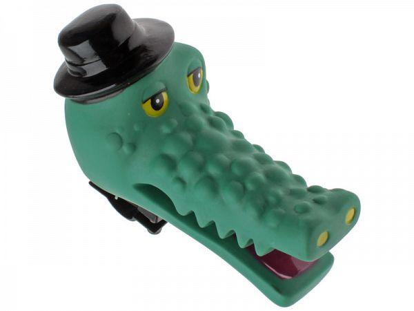 Krokodille m. Hat Pivedyr / Børnehorn