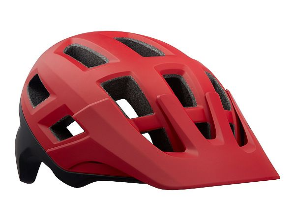 Lazer Coyote Cykelhjelm, Matte Red Black