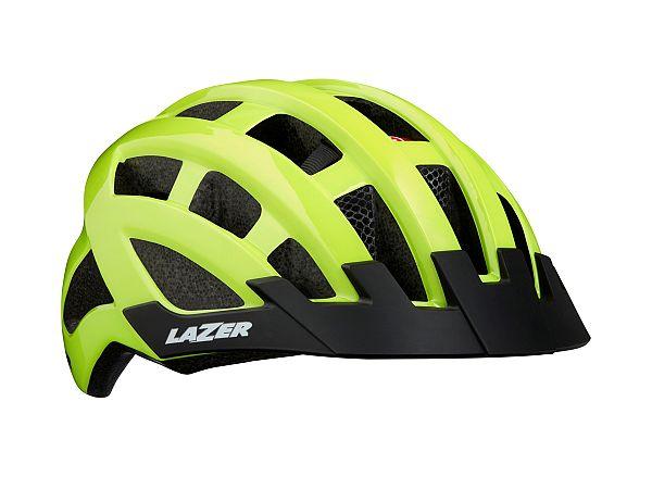 Lazer Petit DLX Junior Cykelhjelm, Flash Yellow