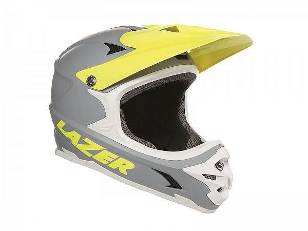 Lazer Phoenix+ Fullface Hjelm, Matt Grey Flash Yellow