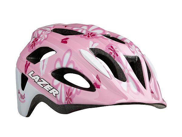 Lazer P'Nut Børnecykelhjelm, Flower Pink