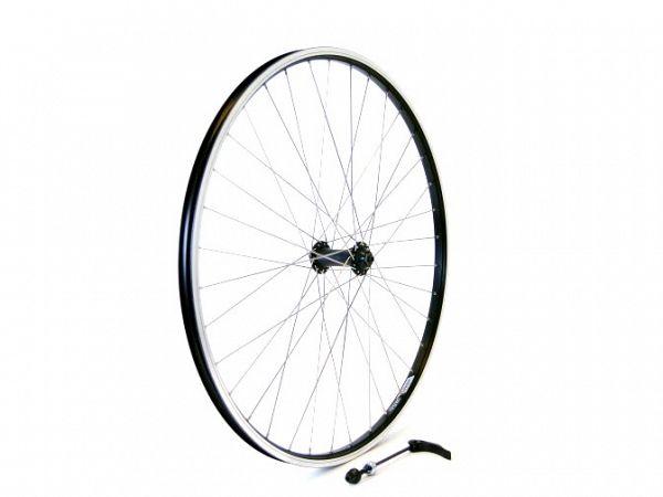 "Linus MTB 26"" QR Forhjul, Black/Silver"