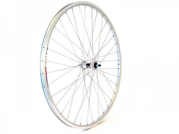 Linus Next 700C sølv Forhjul