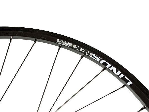 Linus Next Rullebremse Forhjul, Black/Silver